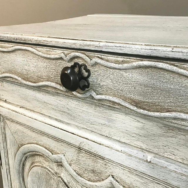 18th Century Country French Whitewashed Buffet For Sale - Image 10 of 13