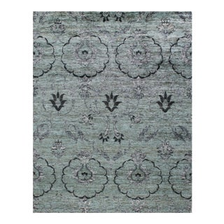 Stark Contemporary Art Nouveau New Oriental Rug - 10′ × 14′