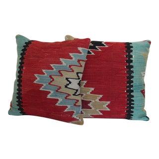 Handmade Kilim Pillow Covers - A Pair