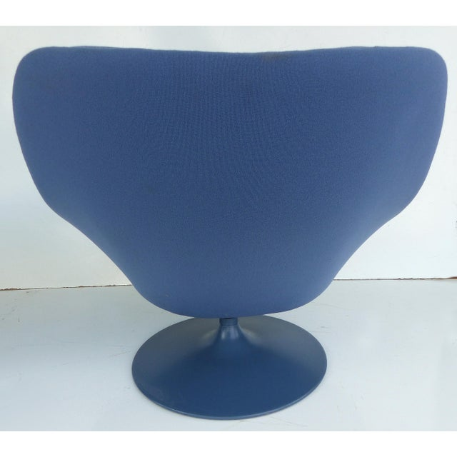 Mid-Century Modern Geoffrey Harcourt Chair & Ottoman For Sale In Miami - Image 6 of 11