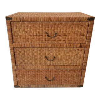 1970s Boho Chic Bielecky Brothers Chest of Drawers For Sale