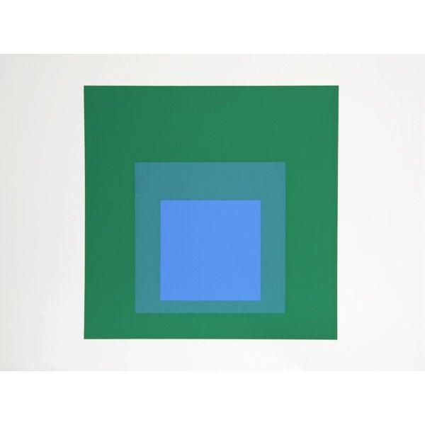 "Josef Albers ""Portfolio 2, Folder 32, Image 1"" Print - Image 3 of 3"