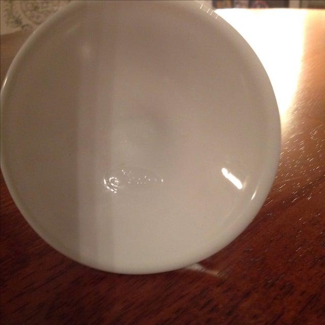 Fenton Hobnail Milk Glass Candlesticks - A Pair - Image 5 of 5