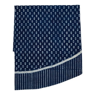 Nagina Round Tablecloth - Indigo For Sale
