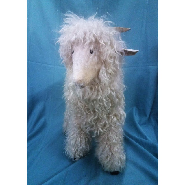 Mid-Century Modern Ray Growler White Lamb Sheep Figure For Sale - Image 3 of 12