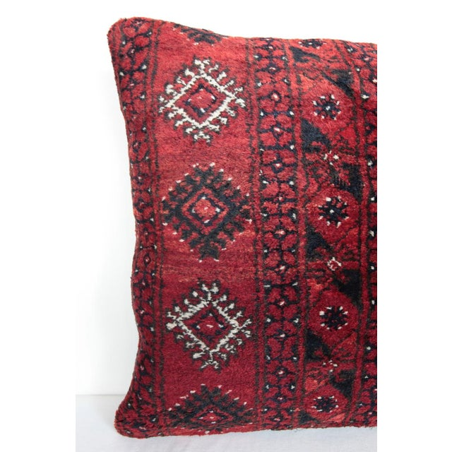 Boho Chic Turkish Decorative Rug Pillow Cover For Sale - Image 3 of 8