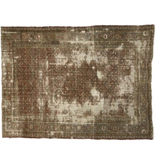 Antique Persian Sultanabad Rug 13'04 X 17'07 For Sale