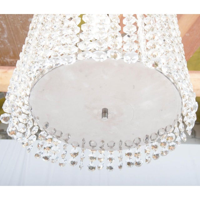 1960s Austrian Mid-Century Large Chandelier from Bakalowits, 1960s For Sale - Image 5 of 8