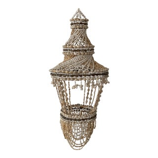 Boho Shell Chandelier For Sale