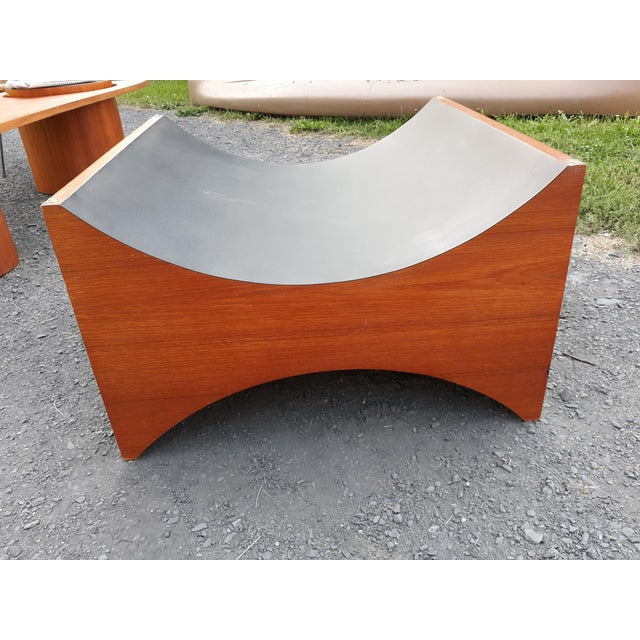 Danish Modern Teak Coffee Table Base by R S Associates For Sale - Image 9 of 11