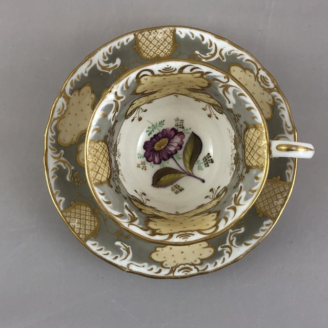1900s Traditional Teacup and Saucer - 2 Pieces For Sale In Austin - Image 6 of 6