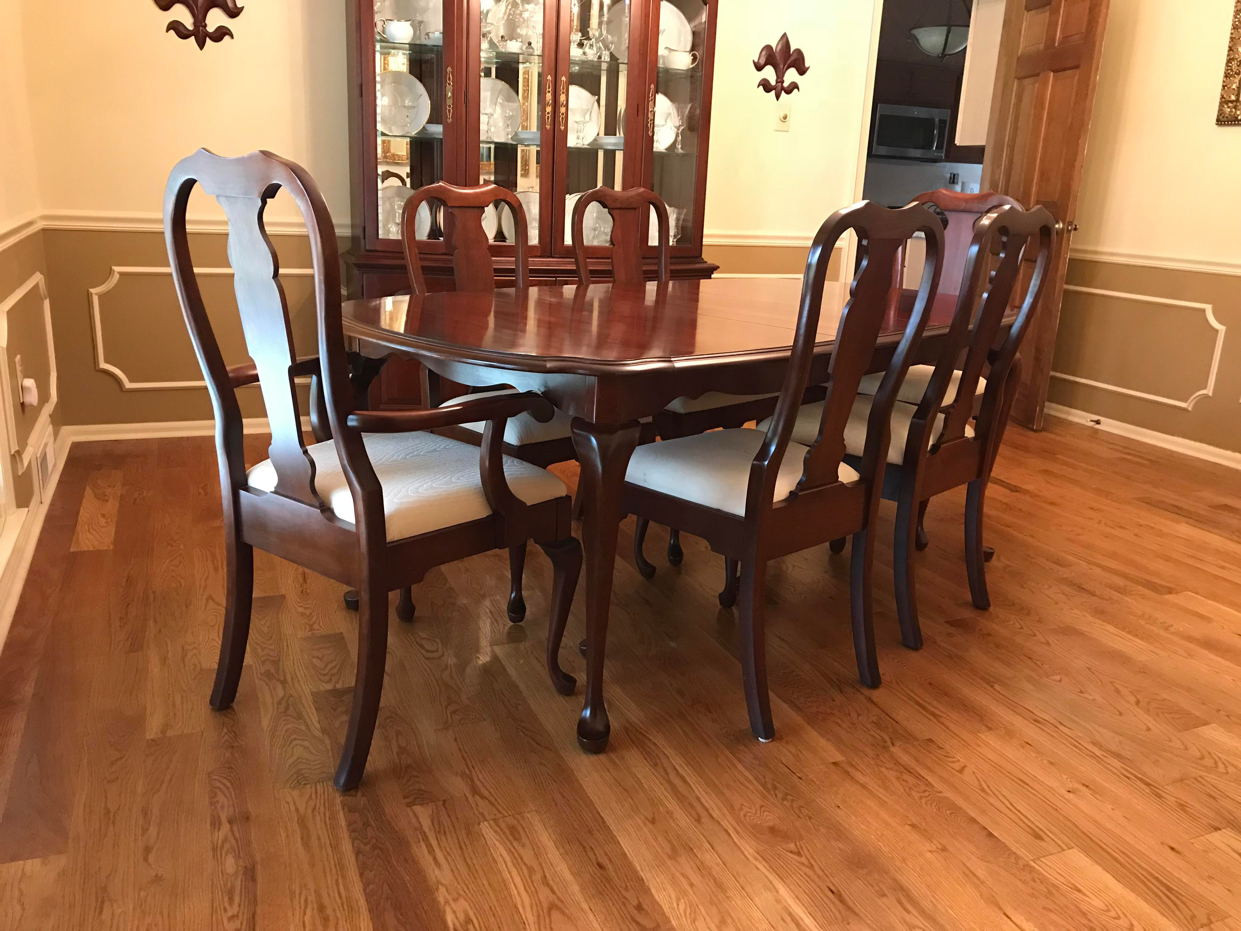 Pennsylvania House Solid Cherry Dining Room Set   Image 2 Of 7