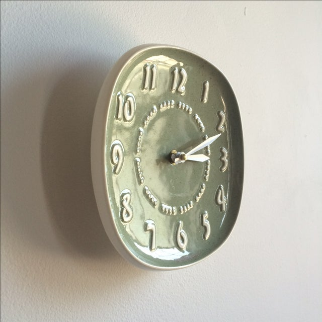 Russell Wright for GE Ceramic Clock - Image 4 of 7