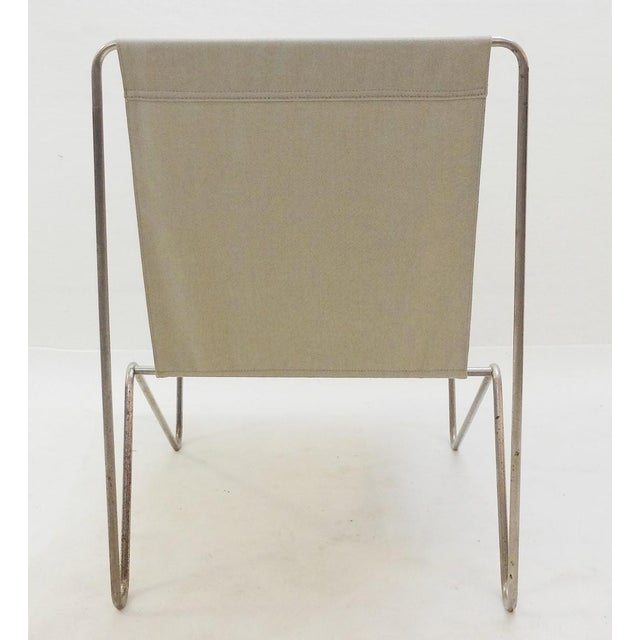 Pair of Verner Panton Bachelor Chairs, 1960's - New Canvas For Sale - Image 6 of 9
