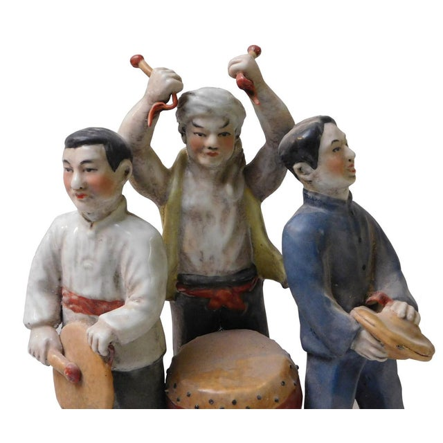 Chinese Cultural Revolution Ceramic Figurine For Sale - Image 5 of 6