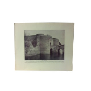 "Antique Glimpses of India Print, ""Fort Bhurtpur"", Circa 1890 For Sale"