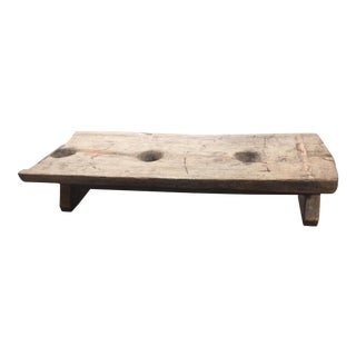 Primitive Naga Tribe Grain Grinding Table For Sale