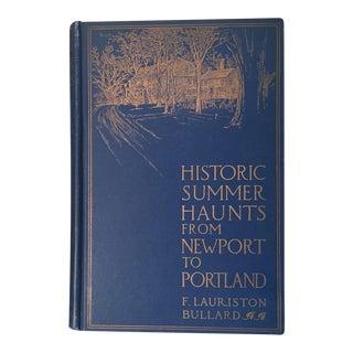 """Historic Summer Haunts From Newport to Portland"" Book"