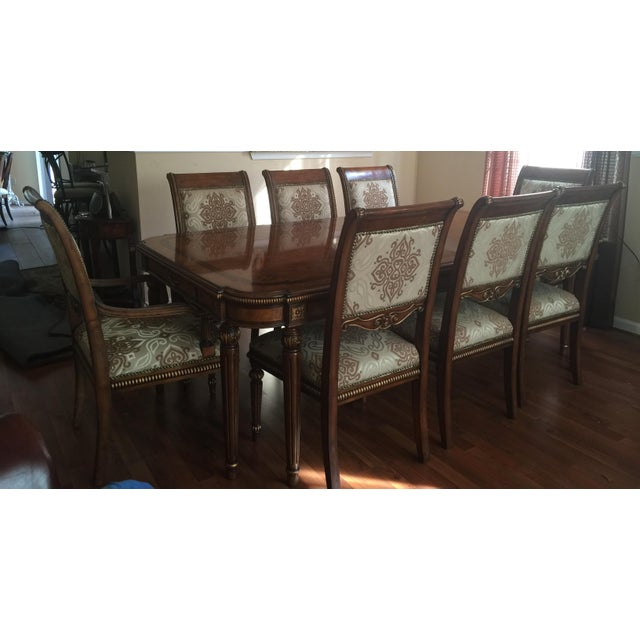 Transitional Style Dining Set - Image 2 of 11