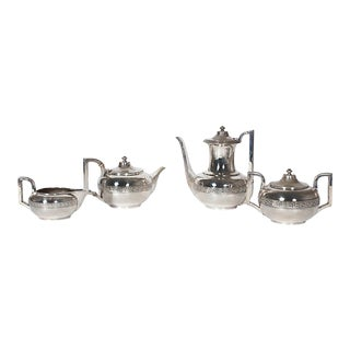 Gorham Silver Tea and Coffee Set - 4 Pieces For Sale