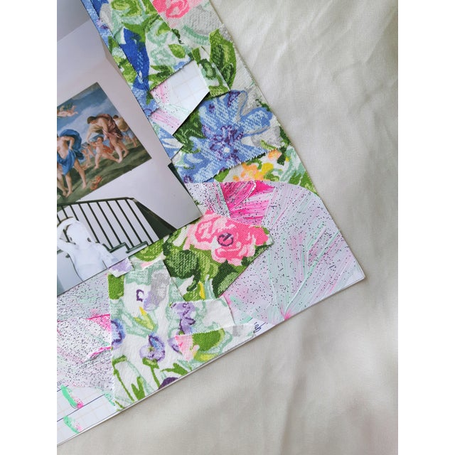 """Paper """"True"""" Abstract Floral Architecture Collage by Frances Sousa For Sale - Image 7 of 8"""