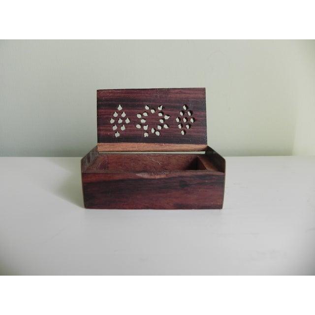 Kenyan Ironwood Box - Image 3 of 5