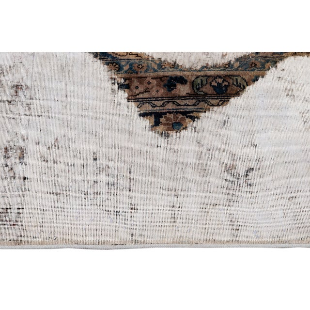 "Vintage Overdyed Rug, 9'4"" X 12'4"" For Sale In New York - Image 6 of 9"