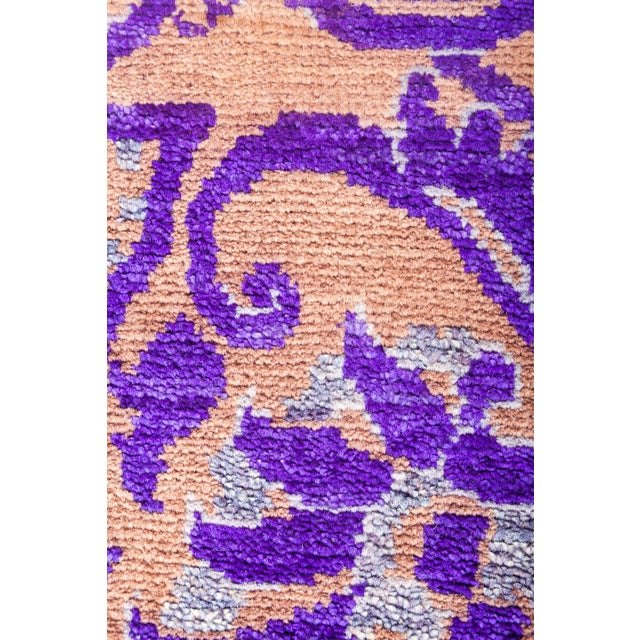 "Suzani Hand Knotted Area Rug - 8' 1"" X 10' 1"" - Image 3 of 4"