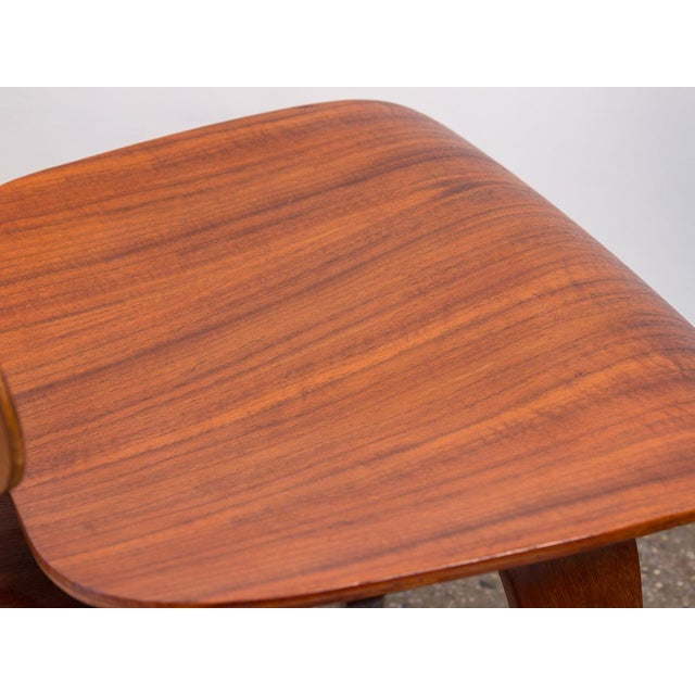 Early Eames Walnut Dcw Chairs for Herman Miller - a Pair For Sale - Image 11 of 12