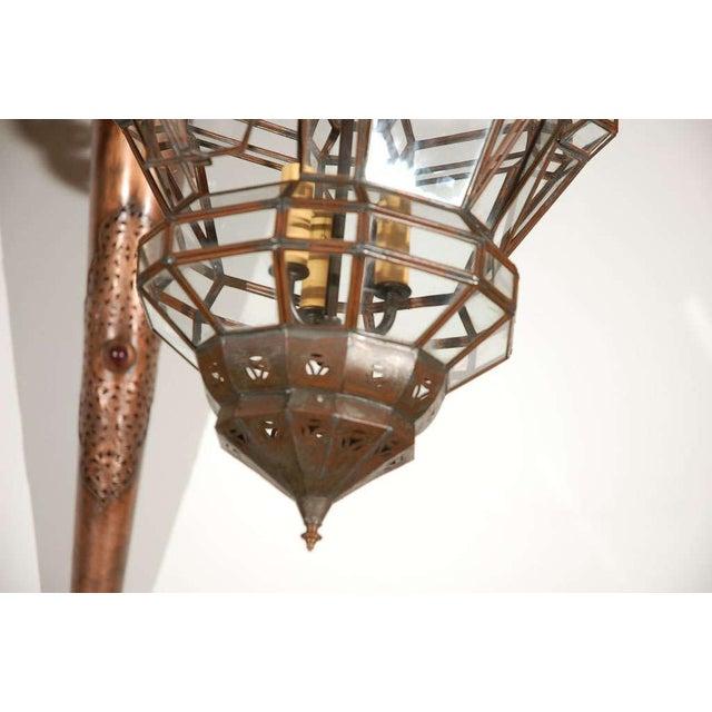 Islamic Granada Moroccan Clear Glass Pendant For Sale - Image 3 of 10