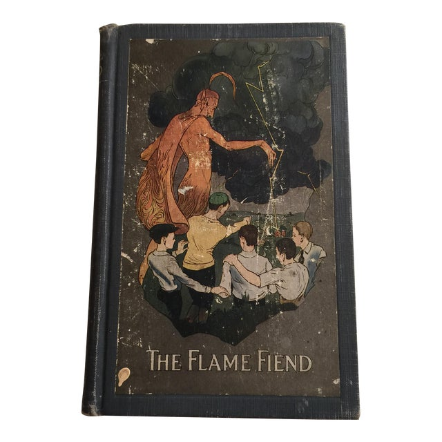 """""""The Flame Fiend"""" 1921 Hallie L. Jameson Book For Sale"""