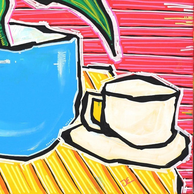 """2010s """"L.A. All Day Long"""" Original Painting by Jonjo Elliott For Sale - Image 5 of 11"""
