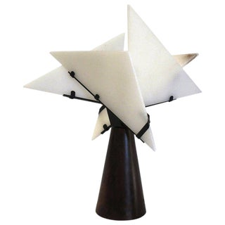 'Nun 1' Table Lamp in the Manner of Pierre Chareau For Sale
