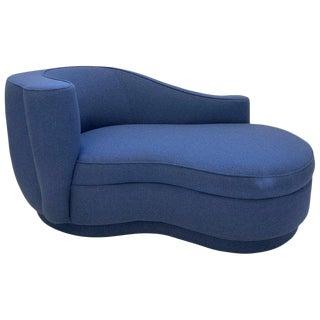 Rare Corkscrew Chaise Lounge by Vladimir Kagan For Sale