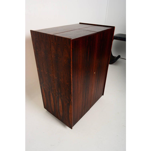 Rosewood Hideaway Desk Cabinet For Sale In San Diego - Image 6 of 7