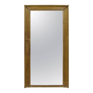 19th Century Tall French Giltwood Mirror