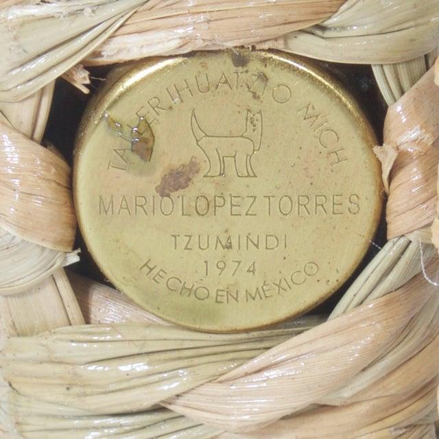 Wood Mario Torres Parrot Floor Lamp For Sale - Image 7 of 8