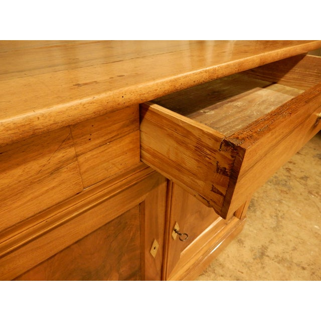 Brown 19th Century Walnut French Enfilade For Sale - Image 8 of 10