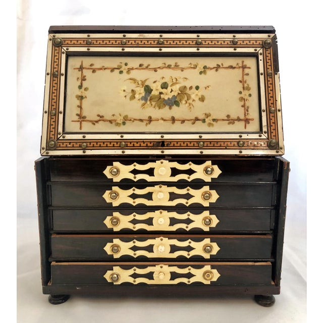 Antique Rosewood Humidor Box, Circa 1880. For Sale In New Orleans - Image 6 of 6