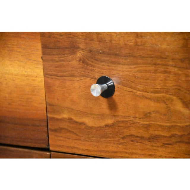 Stanley Walnut and Formica Dresser For Sale - Image 9 of 10