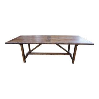 Mid 18th Century Chestnut Farmhouse Dining Table For Sale
