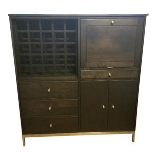 Room & Board Dry Bar Cabinet (Linear Series) For Sale