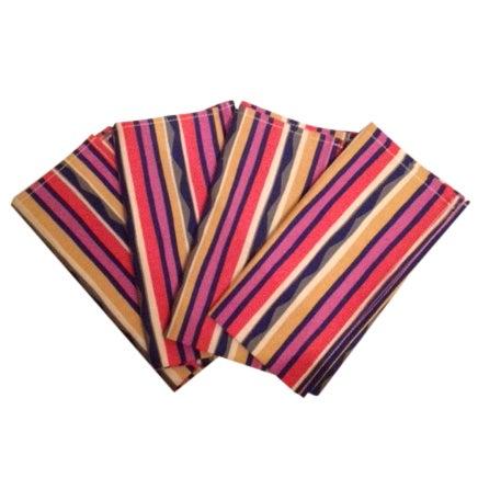 Missoni Striped Home Napkins - Set of 4 - Image 1 of 6