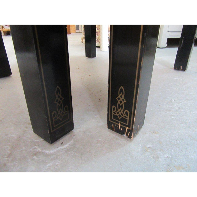 Asian Inspired Drexel Side Tables - a Pair - Image 5 of 9