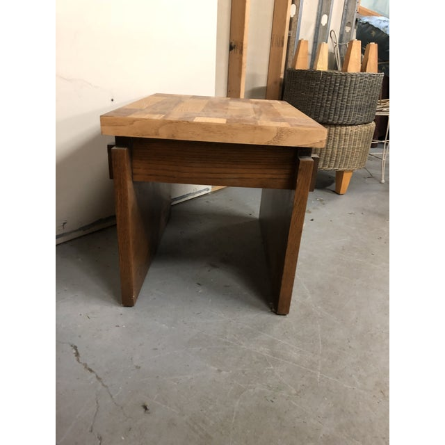 Wood 1970s Mid Century Modern Lane End Tables - a Pair For Sale - Image 7 of 9