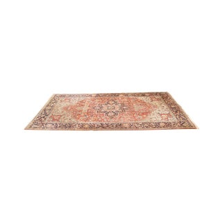 Antique Hand Woven Persian Heriz Rug - 11′6″ × 16′8″
