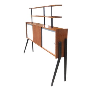 Vintage Mid-Century Buffet Wall Unit