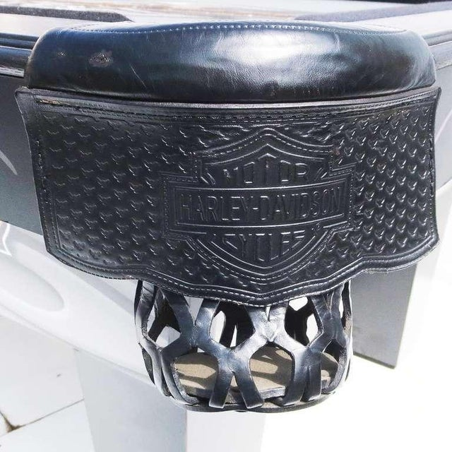 Harley Davidson Custom Pool Table - Image 4 of 8