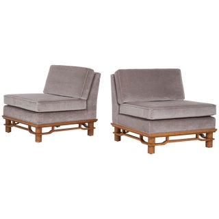 Pair of Lounge Chairs Michael Taylor For Sale