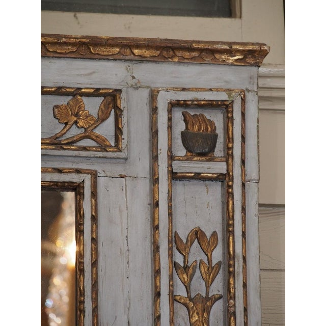 19th Century French Painted Mirror For Sale In New Orleans - Image 6 of 7